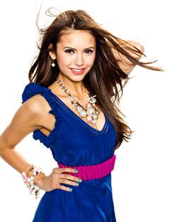 Нина в этом месяце на обложке журнала Seventeen